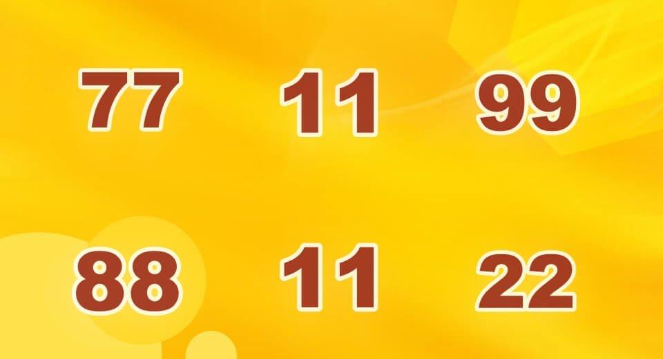 รางวัลเลขท้าย 2 ตัวล่าง ออกเลขเบิ้ลถึง 6 ครั้ง