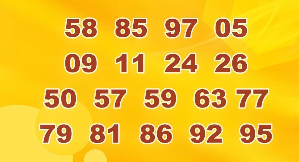 เลขท้าย 2 ตัวล่าง เลขที่ออกมากกว่า 1 ครั้ง