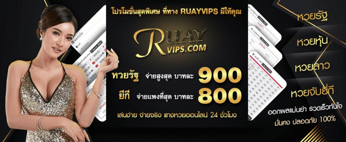 หน้า website RUAYVIPS.com