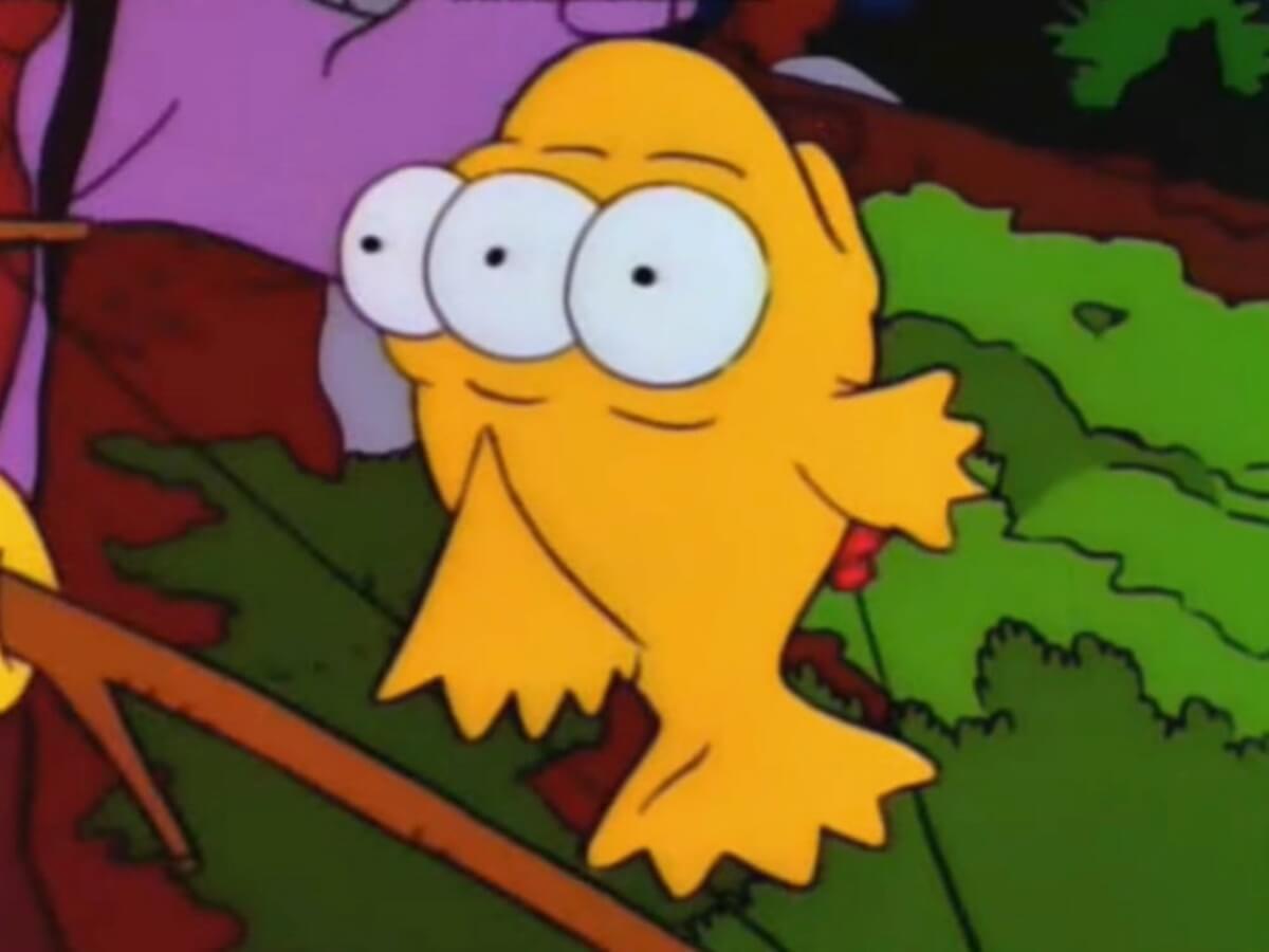 ซิมซันพูดถึงปลาสามตา