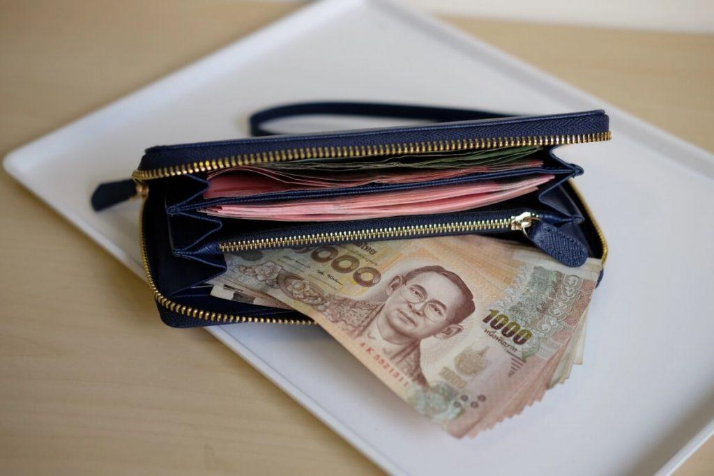 กระเป๋าสตางค์ใส่ธนบัตร