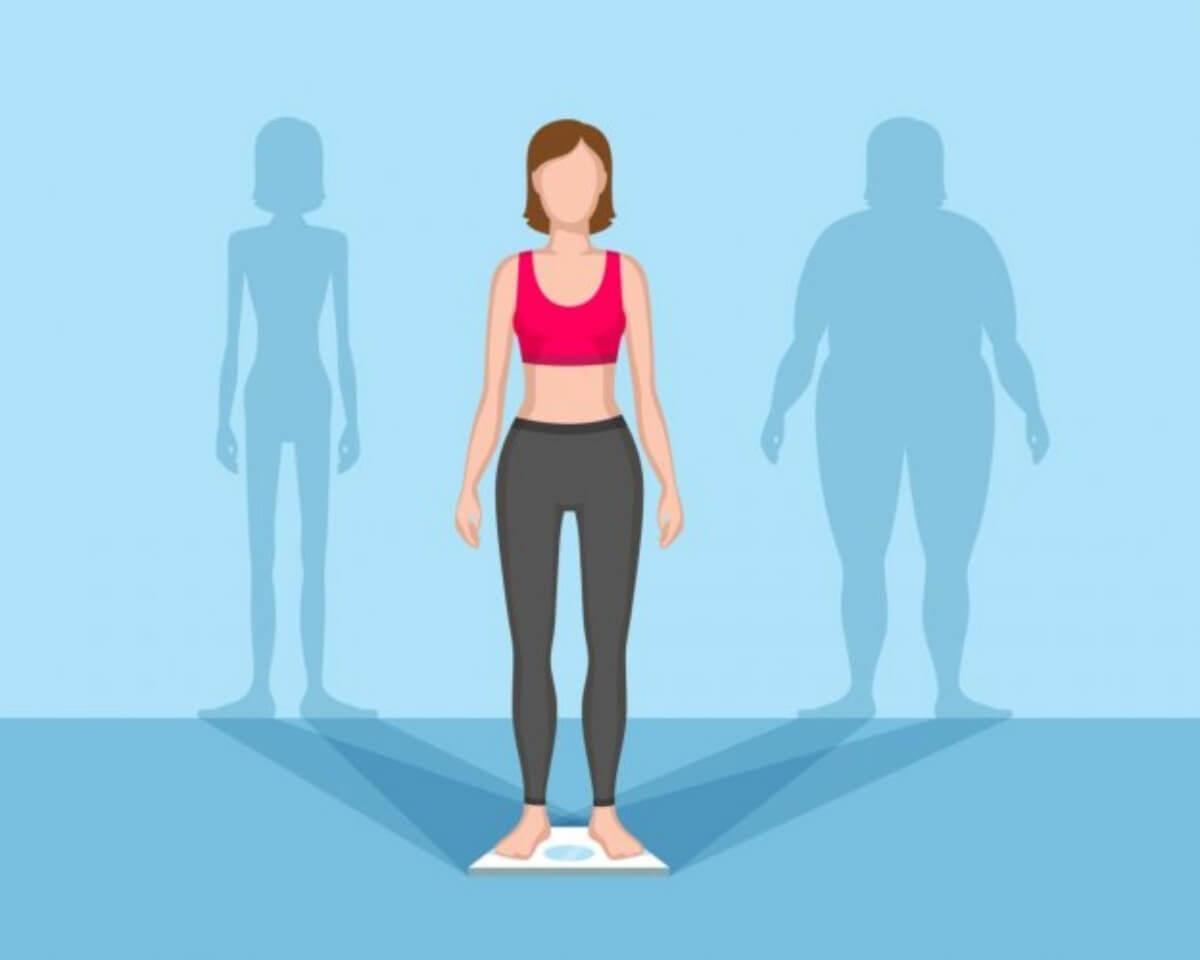 รูปร่างผู้หญิงผอม ปกติ อ้วน