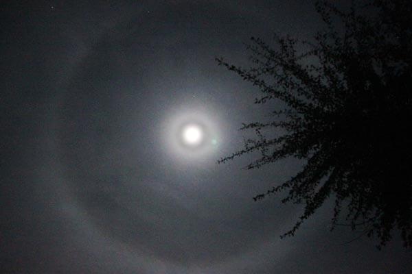 พระจันทร์ทรงกลด