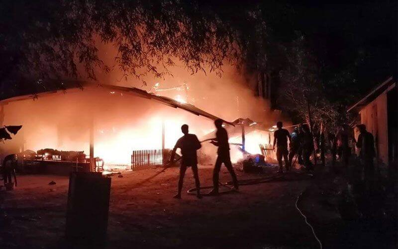 ฝันเห็นไฟไหม้บ้านคนอื่น