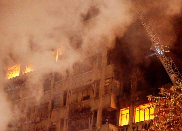 ฝันว่าไฟไหม้อาคาร
