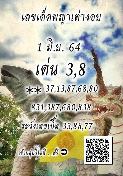 เลขเด็ดพญาเต่างอย01/06/64