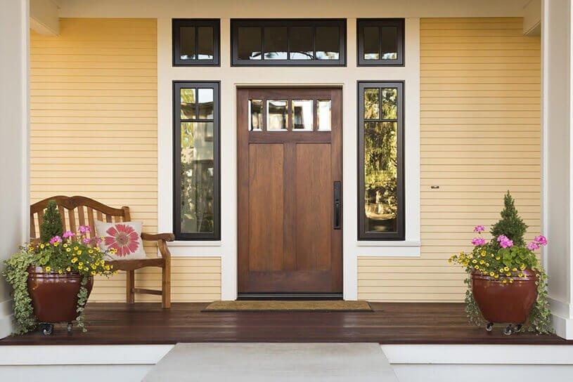 ประตูบ้านใหญ่