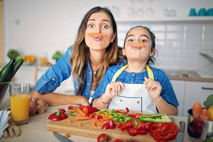 ทำอาหารกับแม่