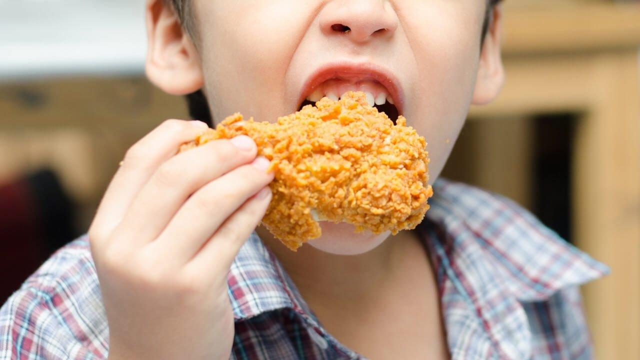 กินไก่ทอด